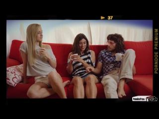 Sicilia, Julia Roca (Funny guide to perfect threesome with hot Spanish babe Julia Roca & couple)2017, Sex, Threesome, HD 1080p