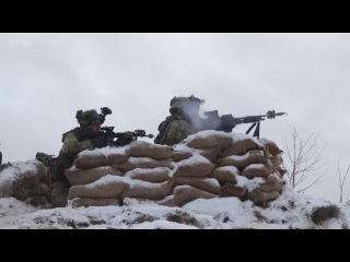 Urban And Forest Simulated Combat Maneuvers Live-Fire Exercise
