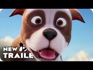 мультфильм про питбуль герой SGT. STUBBY Teaser Trailer (2018) Animated Movie