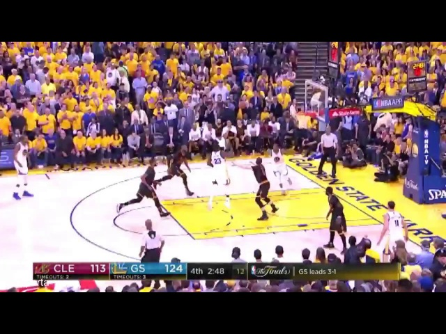 Golden State 129-120 Cleveland Cavaliers Final Game 5 Голден Стейт Ворриорз - Кливленд Кавальерс