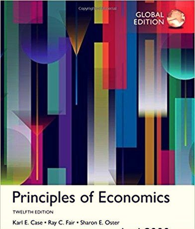 Principles of Economics, Global Edition, 12th edition
