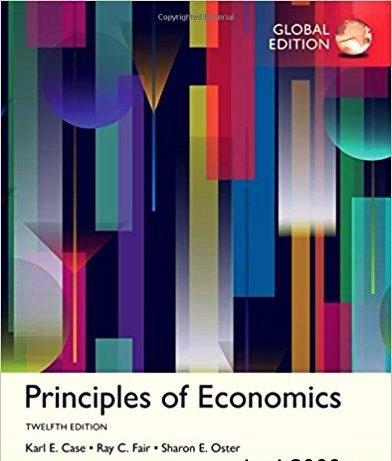 Principles of Economics, Global Edition, 12th edition