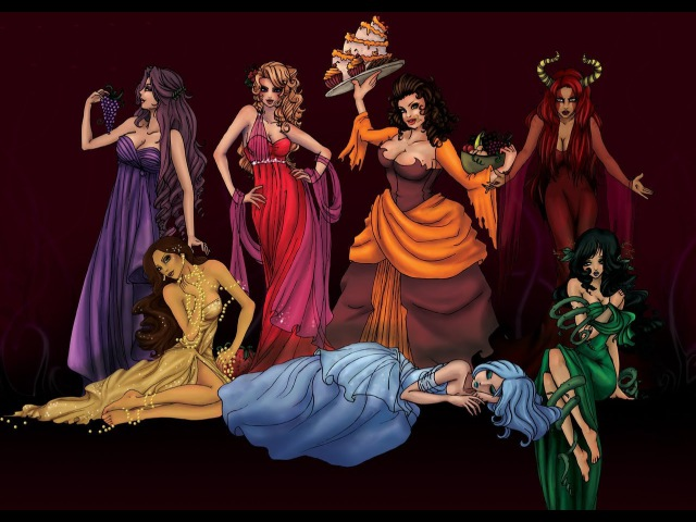 Список семи смертных грехов