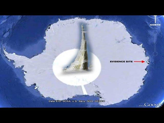 ЛЕТАЮЩИЕ ТАРЕЛКИ ВМЕРЗЛИ В ЛЕД АНТАРКТИДЫ Базы НЛО в Антарктиде
