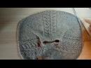 Джемпер ЛИСТИКИ часть 3 Куда переносят петли реглана на рукав или туловище