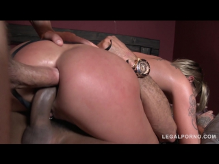 Chantelle fox - anal, double anal, dp, swallow, squirt, gape, group sex
