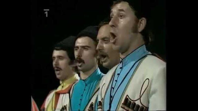 Кубанский казачий хор и Карел Готт( Karel Gott) 1975г. Роспрягайте хлопцы коней