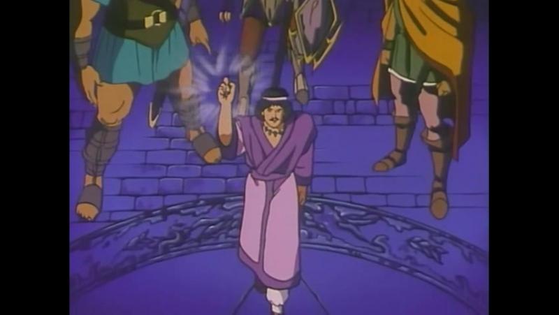 Ancient Books of Ys OVA 1989 6 серия rus sub