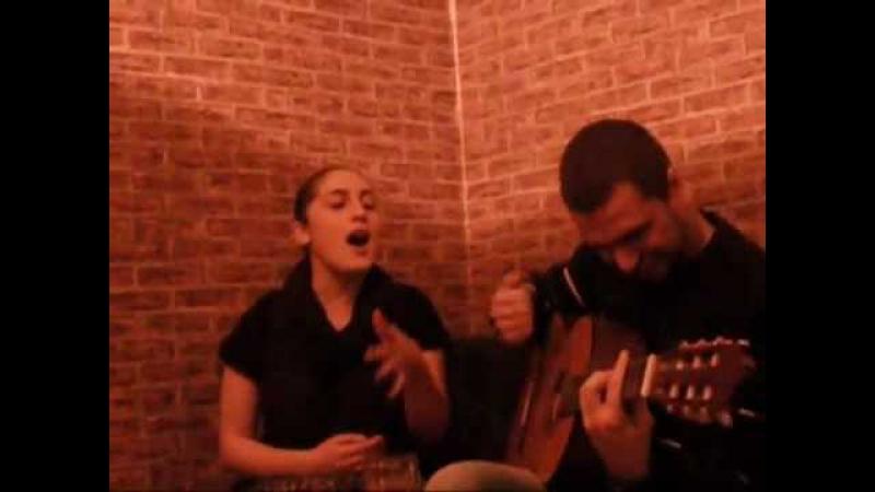 Wvima wamovida good singers Giorgi Tiginashvili wvima სალომე ტეტიაშვილი წვიმა წამოვიდა