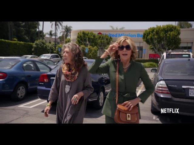Грейс и Фрэнки (Grace and Frankie) Трейлер 3 сезона.