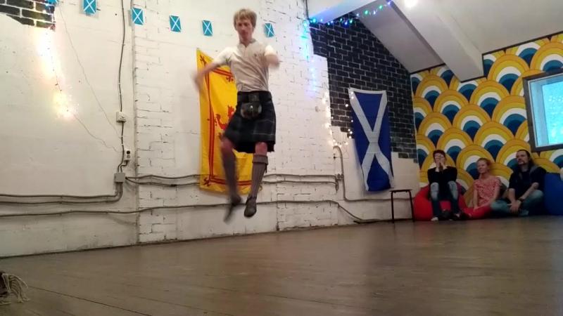 Хайланд Sean Truibhas Открытая вечеринка школы шотландского танца Шихалион 02 09 2017