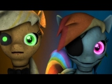 Five nights at Ajs - Game Over [REMAKE] [MLP SFM] Rus