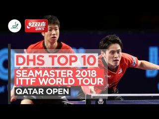 DHS ITTF Top 10 - 2018 Qatar Open
