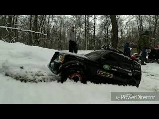 Rc 1/6 scale winter crawl Land Rover Discovery 3
