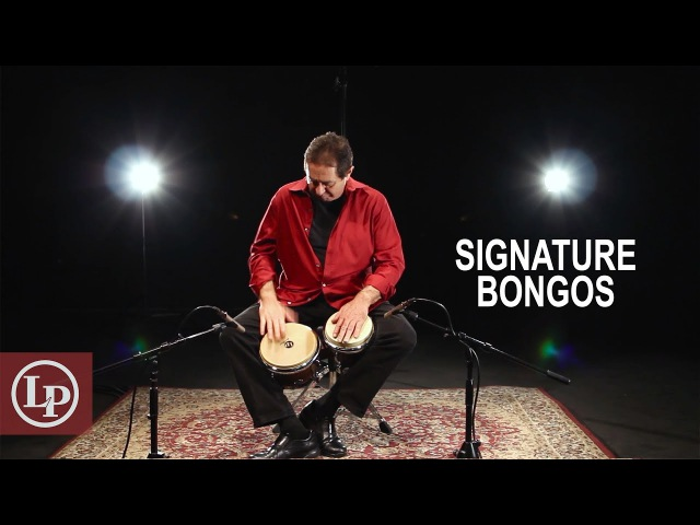 LP® Richie Gajate Garcia Signature Tilia Bongos LP201AX 2RGM
