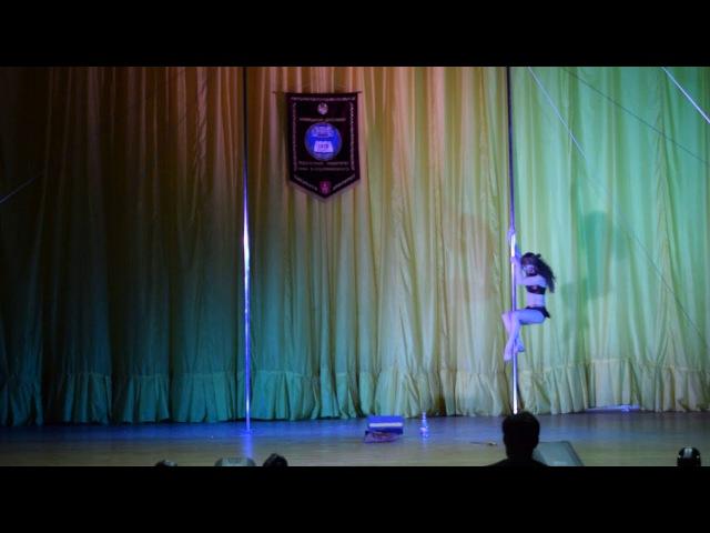 Шепшук Антипова Юлия Алексеевна Perfect Studio POLE DANCE Дорослі жіноча категорія профес ...