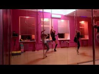 Devillina exotic poledance choreo Beautiful mess Poledeluxe