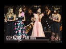 "Tini Stoessel performing 'Corazon Partido' at the Festival Unicos at ""Teatro Colon"""