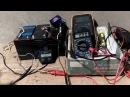 Тест генератора ПЛМ Ветерок. Диодный мост. Часть 1