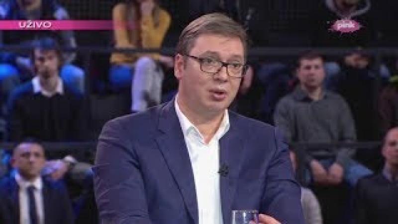 Vučić Ljudi glasaju za borce koji imaju plan i program a ne za mržnju i agresiju