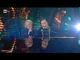 """Roby Facchinetti e Riccardo Fogli - """"Il segreto del tempo"""" - Sanremo 2018 (Prima serata)"""