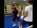 Понеділок Олімпійського центру Конча-Заспа розпочався з візиту Володимира Кличка