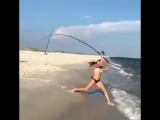 рыбачка супер заброс [рыбалка, большая рыба, катушка, приманка, блесна, воблер, твистер, проводка, спиннинг]