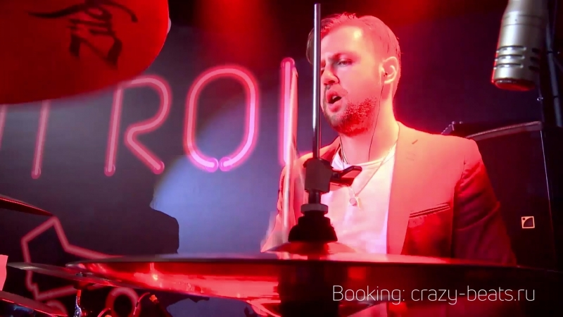 CRAZY BEATS - Live for MAIL.RU