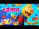 Super Duper Ball Pit | Action Words - Let's Play!
