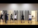 Круговая тренировка сборной России по боксу на тренировочном сборе в Кисловодске.