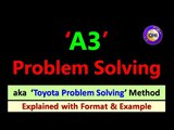 A3 problem solving Toyota Problem Solving (Explained with example)
