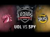 UOL vs. SPY - Week 1 Day 2 EU LCS Spring Split Unicorns of Love vs. Splyce (2018)