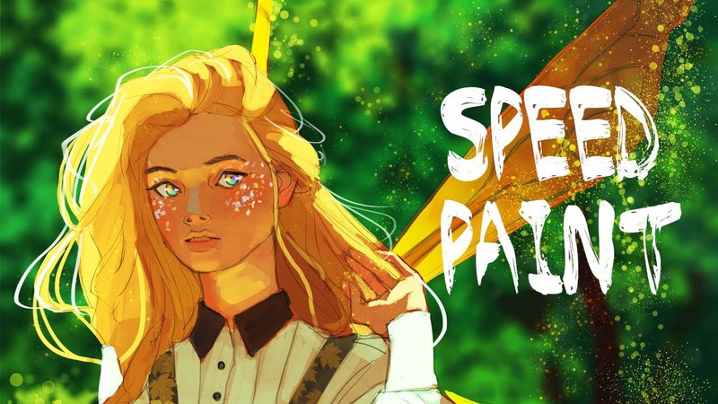 Fairy DnD Commission   Speed Paint