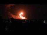 Видео взрывов в Калиновке, взрываются боеприпасы. У Калинівці горять військові склади. 26.09.2017