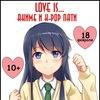 18 февраля LOVE IS аниме и k-pop пати 10+