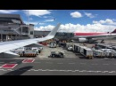 American Airlines landing in Bogota Airbus A319-115