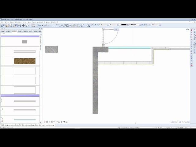 Incarcare tipuri de reperezentare din proiecte existente