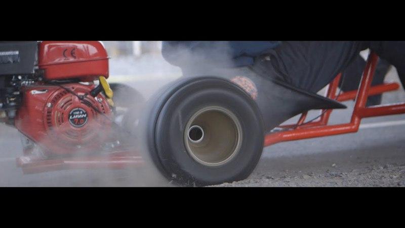 Motorised Drift Trike, test run!!