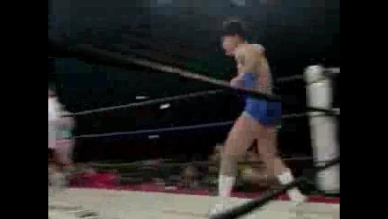 1. Akiko Abe, Chikako Shiratori, Miki Yokoe and Numacchi vs. Kumiko Maekawa, Rie Tamada, Tomoko Watanabe and Miko Ikari (1.24.94