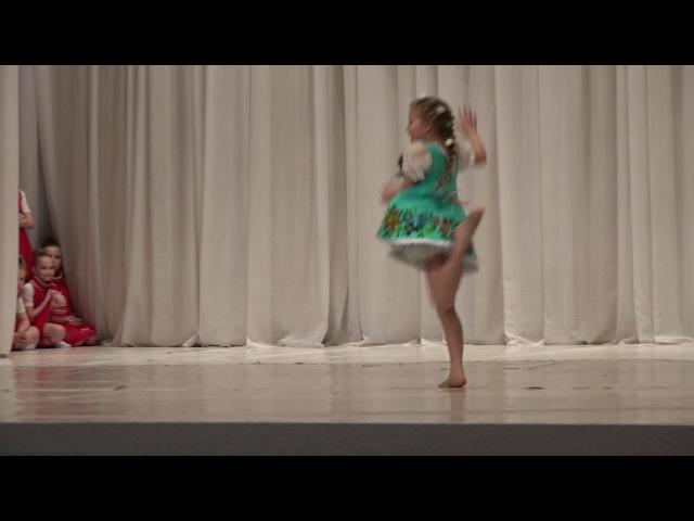 Детский танец Соло НА ЗАВАЛИНКЕ Children's THE BENCH