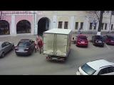 О том как фургон пошел в гости, а попал в безвыходное положение
