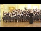 Выступление хора Димитриевской школы на фестивале хоров православных школ