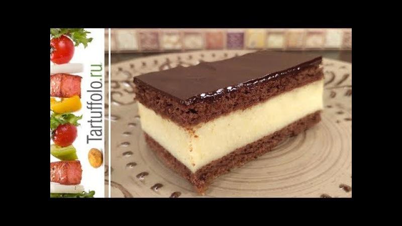 Торт ПТИЧЬЕ МОЛОКО за 15 минут! Без Выпечки. Нежный и очень вкусный!