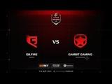 QB.Fire vs Gambit, inferno, ELEAGUE Major Boston 2018