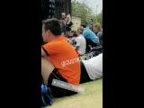 May 12: Fan taken video of Justin playing soccer in Playa Vista, California.
