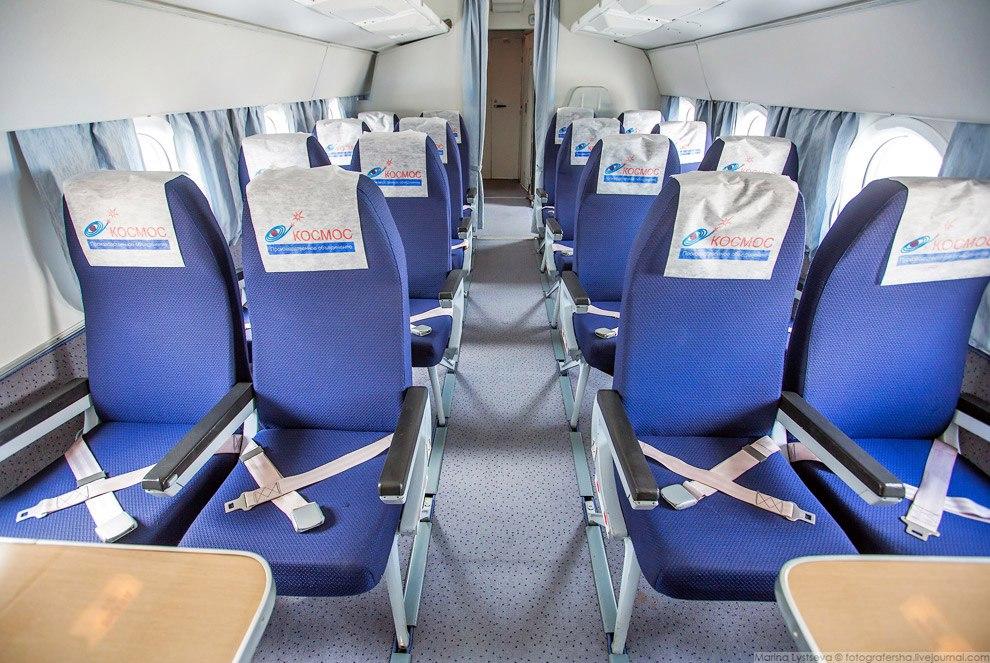 Ту-134 изнутри: роскошь и комфорт индивидуального самолета