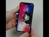 Краш тест iPhoneX