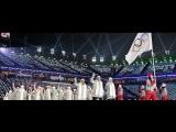 Россия без флага. Открытие Олимпиады в Пхенчхане - кадры открытия (9.02.2018)