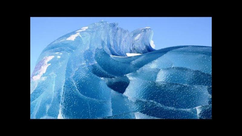 Кто режет лед в Антарктиде Как и ЗАЧЕМ это делается
