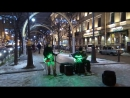 Уличные музыканты в Питере